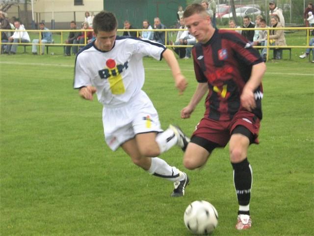 Fragment meczu Nadwiślanki z Kmitą Zabierzów w 2007 roku