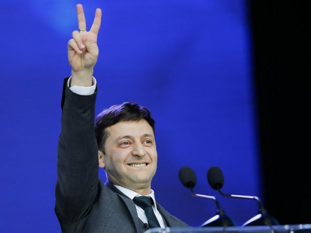Kijów: Wołodymyr Zełenski będzie prezydentem Ukrainy, dostał ponad 70 procent głosów