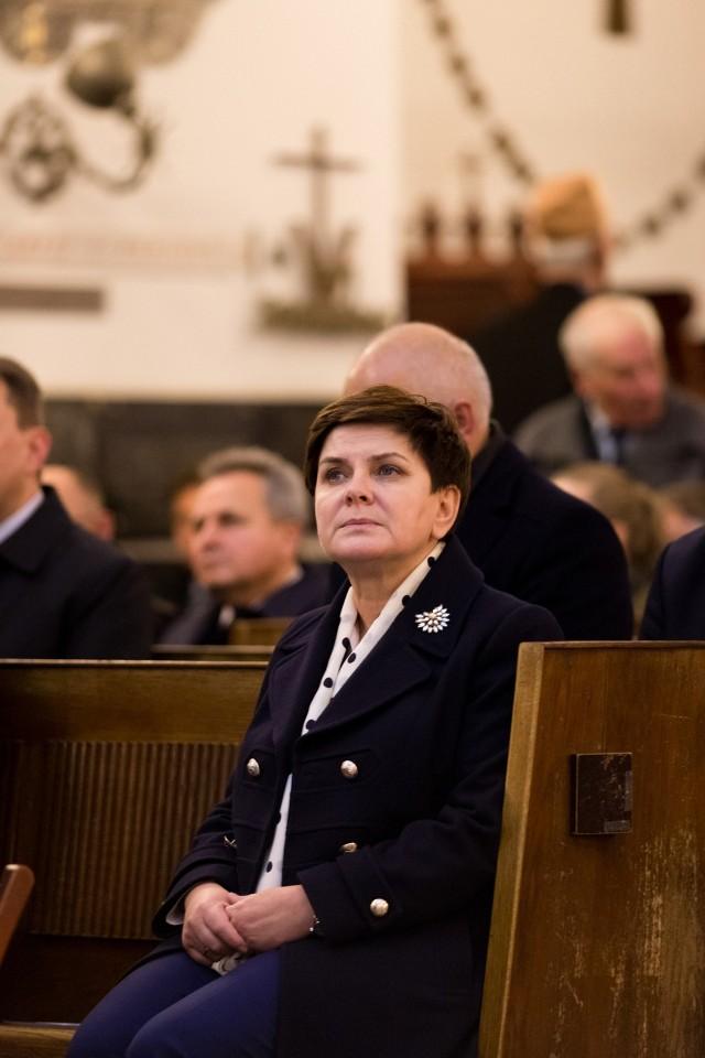 Premier Beata Szydło wzięła udział we mszy św. podczas obchodów 32. rocznicy śmierci ks. Jerzego Popiełuszki