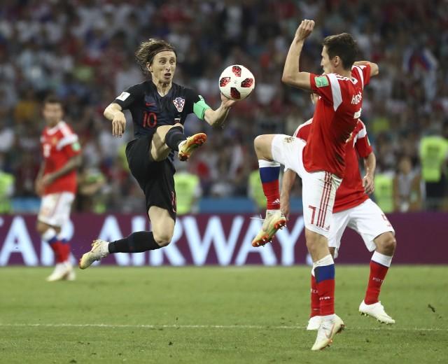 Luka Modrić to kluczowa postać reprezentacji Chorwacji.