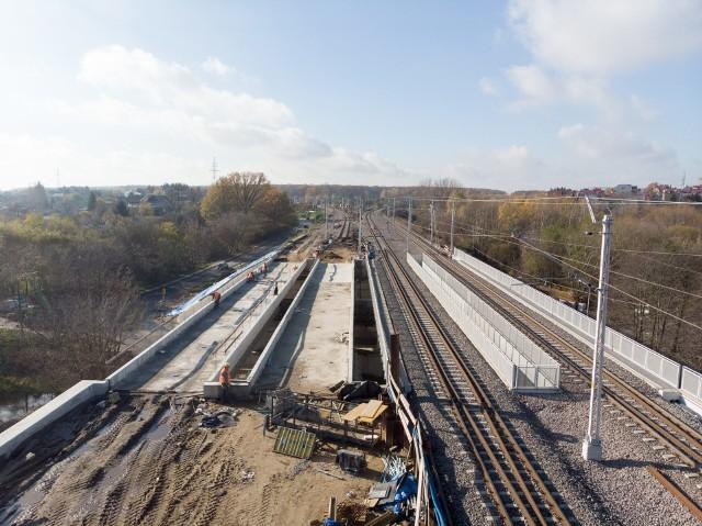 Prace przy przebudowie wiaduktów kolejowych w Lublinie mają potrwać do końca marca przyszłego roku