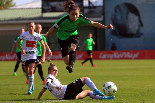 Bramkę na 1:0 dla Górnika strzeliła Sylwia Matysik