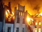 Pożar zabytkowego pałacu w Główczycach [24.03.2020]. Spalił się dach budynku, zniszczeniu uległo wyposażenie. Nikt nie został poszkodowany