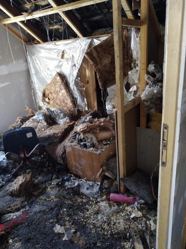 Pomoc dla pogorzelców z Ugoszczy. Pomóżmy odbudować im dom.