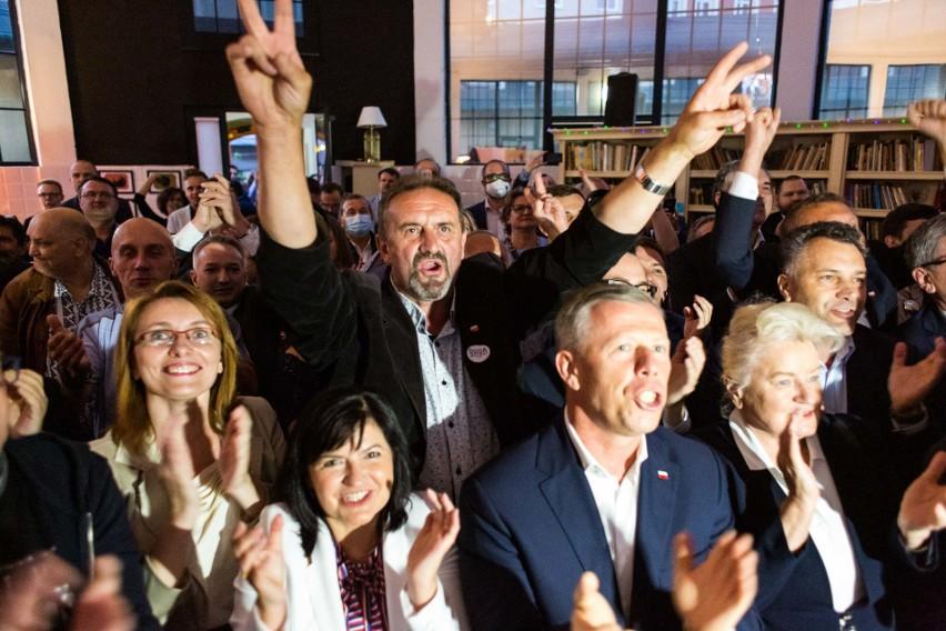 Wieczór wyborczy PiS w Krakowie