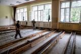Remont VI LO w Białymstoku. Rozpoczęła się przebudowa zabytkowego budynku szkoły