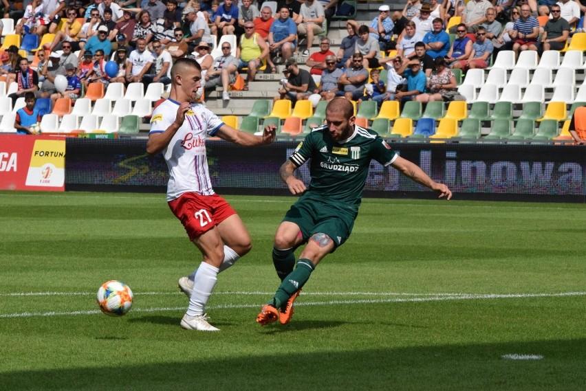 Olimpia Grudziądz - Podbeskidzie Bielsko Biała 1:2 (0:1)