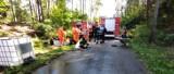Strażackie ćwiczenia na terenie fabryki amunicji Mesko w Skarżysku (ZDJĘCIA)