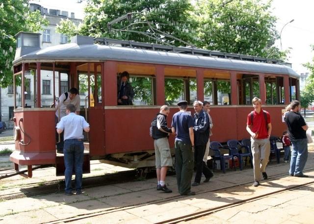Tak wyglądał tramwaj Sanok przed remontem.