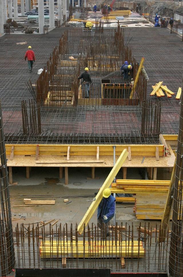 Najwięcej problemów ma branża budowlana.
