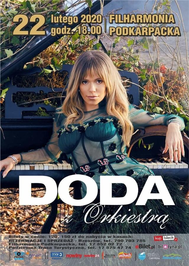Doda z Orkiestrą, to bez wątpienia jedno z najważniejszych wydarzeń na polskiej scenie w 2019 roku, które pokaże kolejne, kto wie – może najbardziej niesamowite oblicze Dody. Niepokornej, ale i niezwykle wrażliwej artystki.