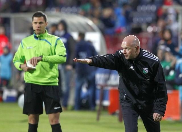 Koniec spotkania. W ostatnim meczu w Szczecinie Portowcy przegrali z Legią 0:1