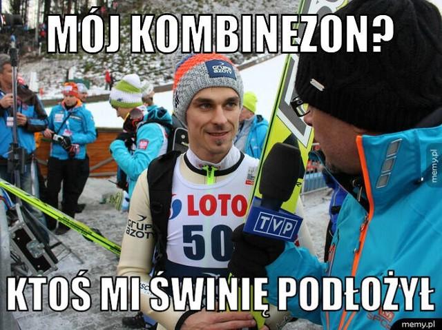 Memy po podium Polaków w PŚ w Zakopanem  Zobacz kolejne zdjęcia. Przesuwaj zdjęcia w prawo - naciśnij strzałkę lub przycisk NASTĘPNE