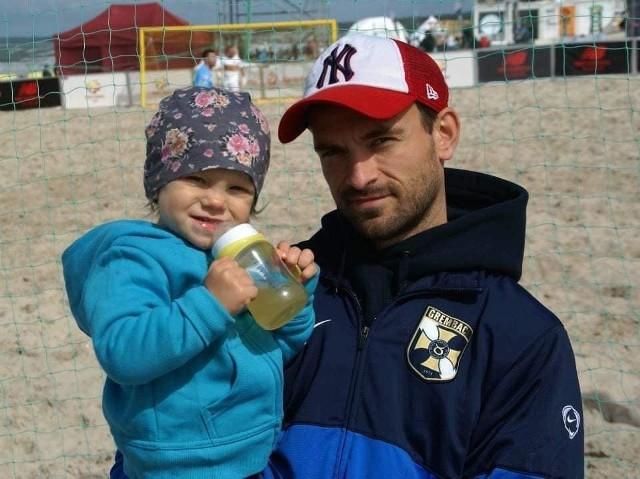 Pola z tatą - Adamem Bogaczem