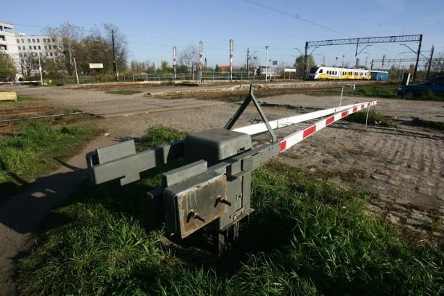 Przejazd kolejowy Wrocław Muchobór