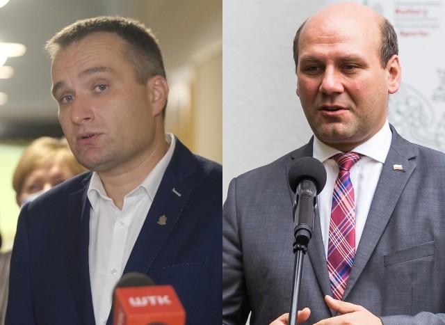 Mariusz Wiśniewski i Szymon Szynkowski vel Sęk.