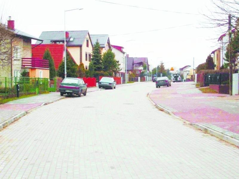 Tak po zakończeniu prac wygląda ulica Królowej Jadwigi.