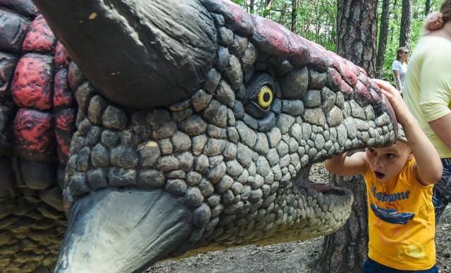 W  Ogrodzie Botanicznym będzie można zobaczyć dinozaury