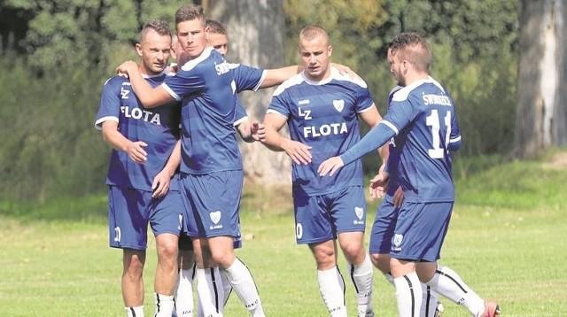 Piłkarze Floty Świnoujście 4 kolejki przed końcem sezonu są już pewni awansu.