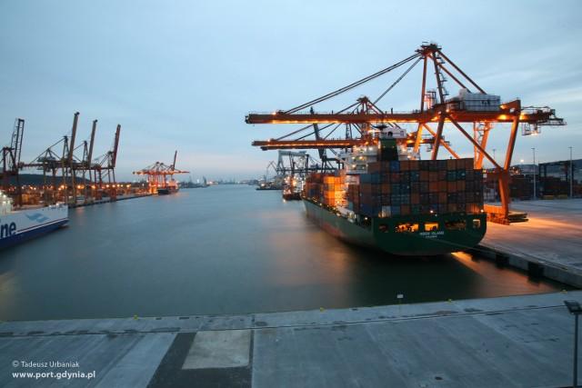 Port w Gdyni już korzysta z zakończonych inwestycji