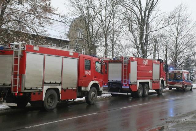 Do zatrucia czadem doszło w budynku mieszkalnym przy ul. Morasko w Poznaniu.