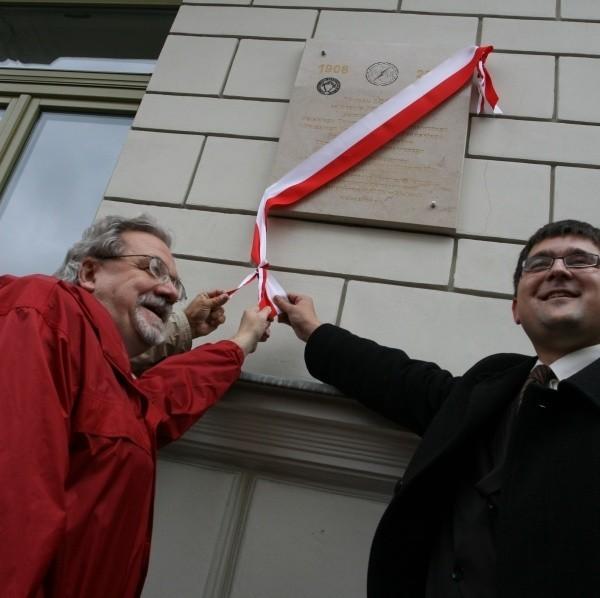 Na budynku przy ulicy Świętego Leonarda, gdzie powstało pierwsze muzeum PTK, odsłonięto pamiątkową tablicę.