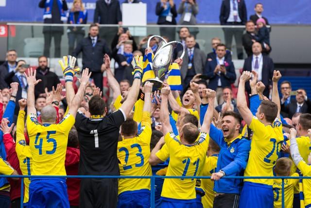Arka Gdynia broni Pucharu Polski. Legia spróbuje jej go odebrać