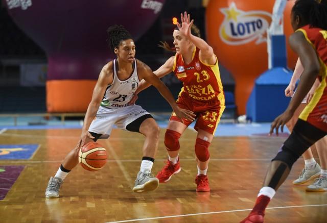 Marissa Kastanek (z prawej) i jej koleżanki muszą wygrać w niedzielę z Zagłębiem, aby zająć pierwsze miejsce przed fazą play-off