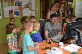 """Czy """"Lubuską"""" czytają w kosmosie? Rezolutne przedszkolaki w redakcji GL. Zobacz wideo"""
