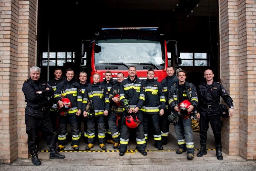 O poznańskich strażakach z JRG 5 zrobiło się głośniej, kiedy...