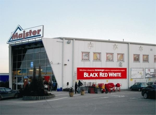 Nowy Salon Black Red White W Rzeszowie Nowiny