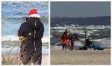 Plaża w Dziwnówku w świąteczny weekend. Pogoda nie odstraszyła przyjezdnych. ZDJĘCIA