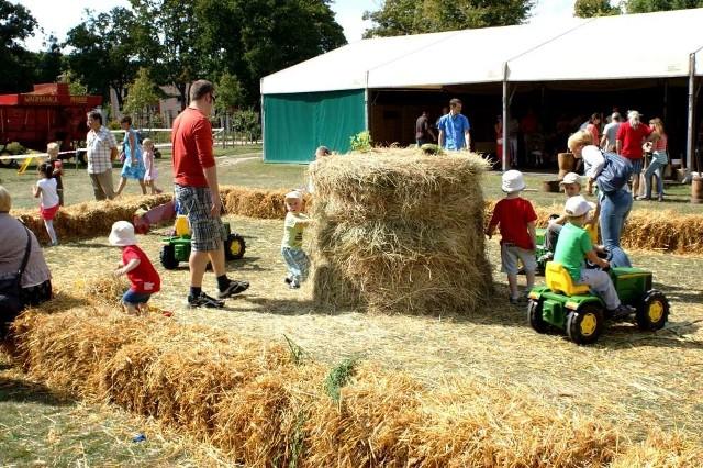 Żniwa i dożynki w muzeum rolnictwa w Szreniawie