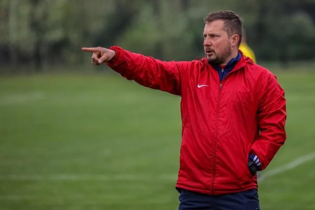 Trener Mateusz Miś