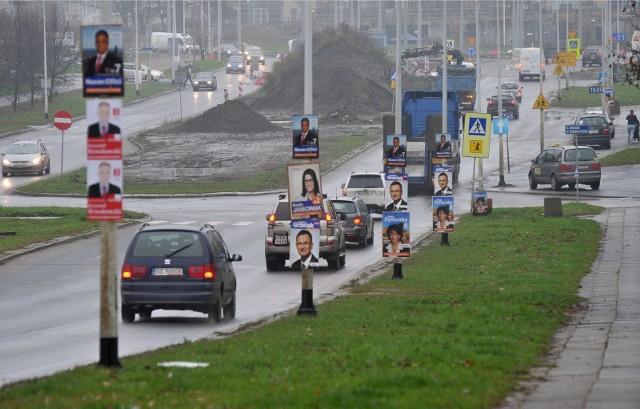 Tak jeszcze kilka lat temu wyglądały ulice Gdańska podczas kampanii wyborczych