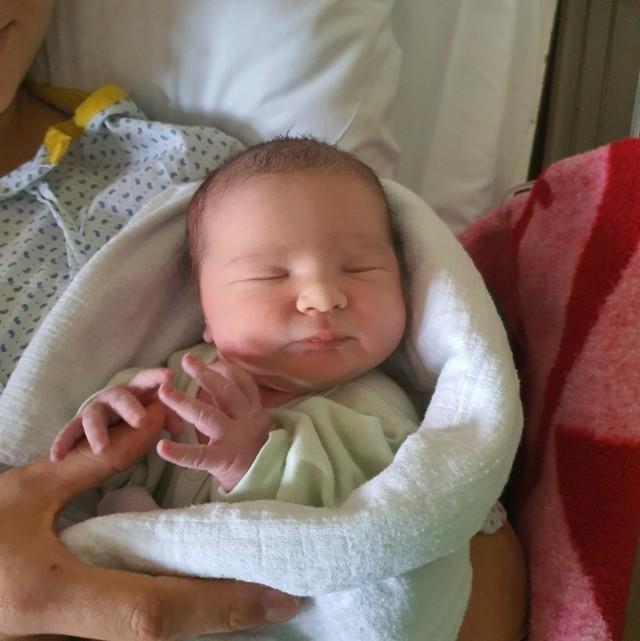 Ala Giżewska przyszła na świat o godz. 10.45 w Szpitalu Specjalistycznym w Kościerzynie