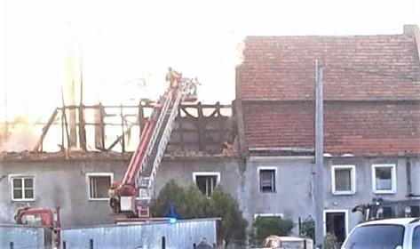 Zdjęcia z akcji gaszenia pożaru w Bożnowie nadesłał nam Czytelnik – Krzysztof Piasecki