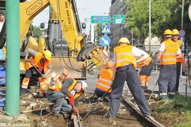 MPK Poznań: Ruszył remont torowiska na Hetmańskiej