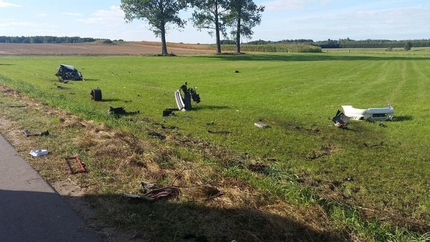 Śmiertelny wypadek Porsche - Jasionówka