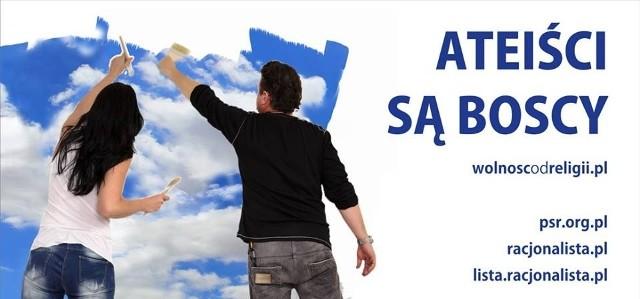 """""""Boscy ateiści"""" na billboardach - nowa kampania niewierzących"""