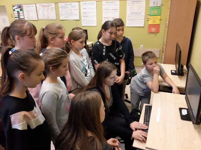Junior Media - zajęcia w Dzbeninie
