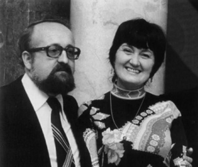 Halina Łukomska - Bloch z Krzysztofem Pendereckim.