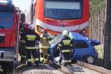 Śmiertelny wypadek na przejeździe kolejowym w Rożnowie pod Obornikami. Kobieta wjechała pod rozpędzony pociąg. Zginęła na miejscu