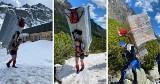 Tatry Słowackie. Wnieśli lodówkę i zmywarkę na własnych plecach do schroniska wysokogórskiego 26.05
