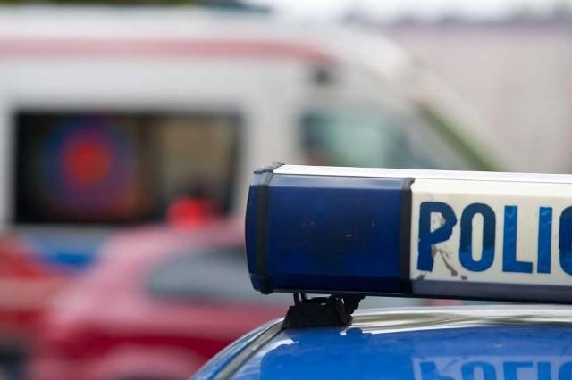Policyjny radiowóz potrącił kobietę!