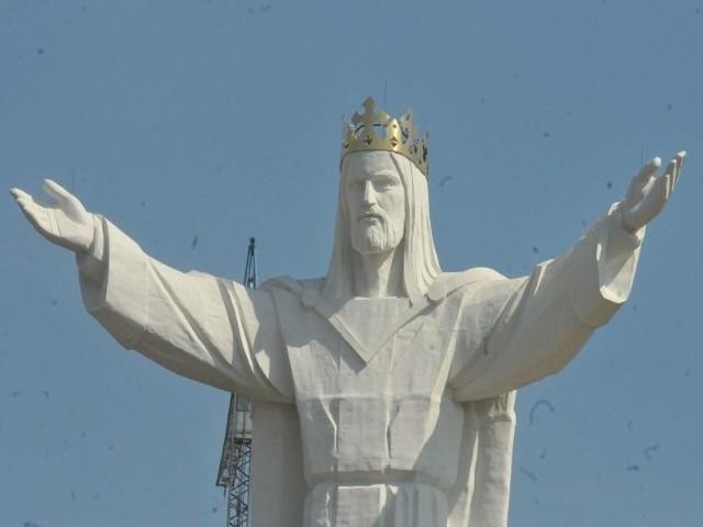 Pomnik Chrystusa staje się coraz bardziej popularny, nie tylko w Polsce ale też w Niemczech.