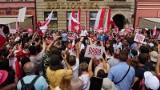 Policja chce kary dla sztabu Andrzeja Dudy za wiec we Wrocławiu