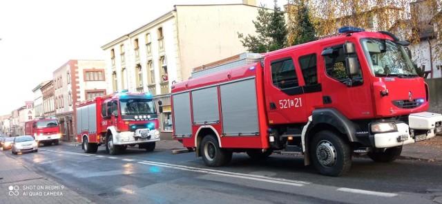 W Więcborku wybuchł gaz. Ewakuowano 12 osób.