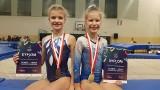 Świetny występ zawodniczek z Dobrzenia Wielkiego na mistrzostwach Polski w gimnastyce