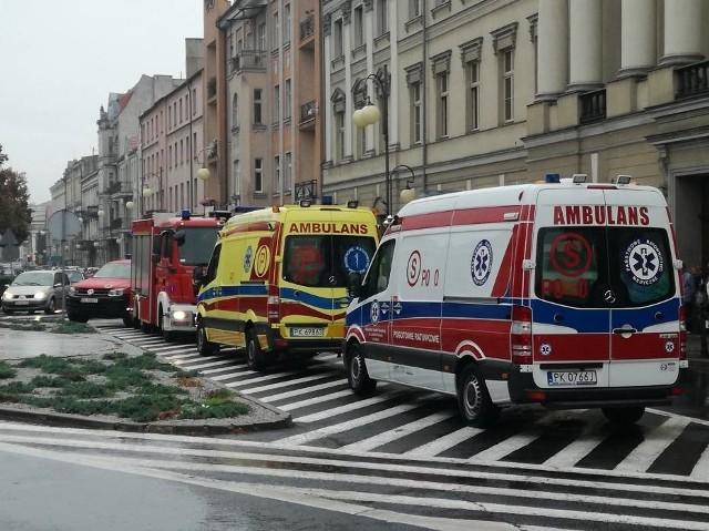 Do tragicznego wydarzenia doszło w poniedziałek w Kaliszu. W tamtejszym Sądzie Okręgowym zmarł mężczyzna.